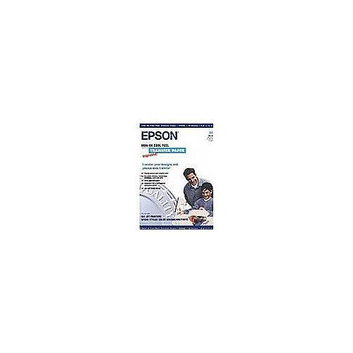 EPSON C13S041154 Cool Peel T-Shirt, Transferpapier zum Aufbügeln, A4, Folie