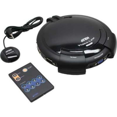 Aten  VS881 Monitorumschalter 8-fach S-VGA/8 PC auf 1 Monitor   4710423770157