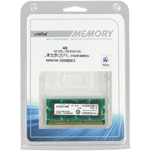 4GB Crucial DDR3-1333 CL9 (9-9-9-24) SO-DIMM