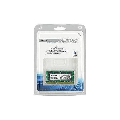 4GB Crucial DDR3-1066 CL7 PC3-8500 SO-DIMM 1,35 V RAM für MacBook   0649528762290