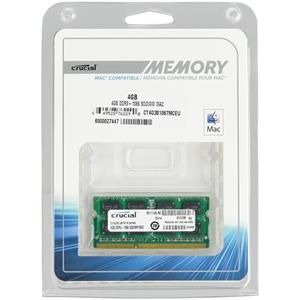 4GB Crucial DDR3-1066 CL7 SO-DIMM