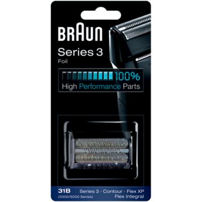 Braun  Scherfolie Series 3 – 31B schwarz   4210201072768