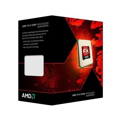 AMD  FX-8350 (8x 4.0GHz) 8MB Black Edition (Vishera) Sockel AM3+ BOX | 0730143302517