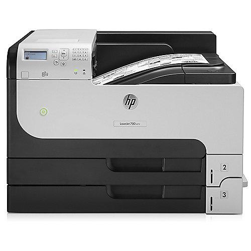 LaserJet Enterprise 700 M712dn S/W-Laserdrucker LAN   0886112999674