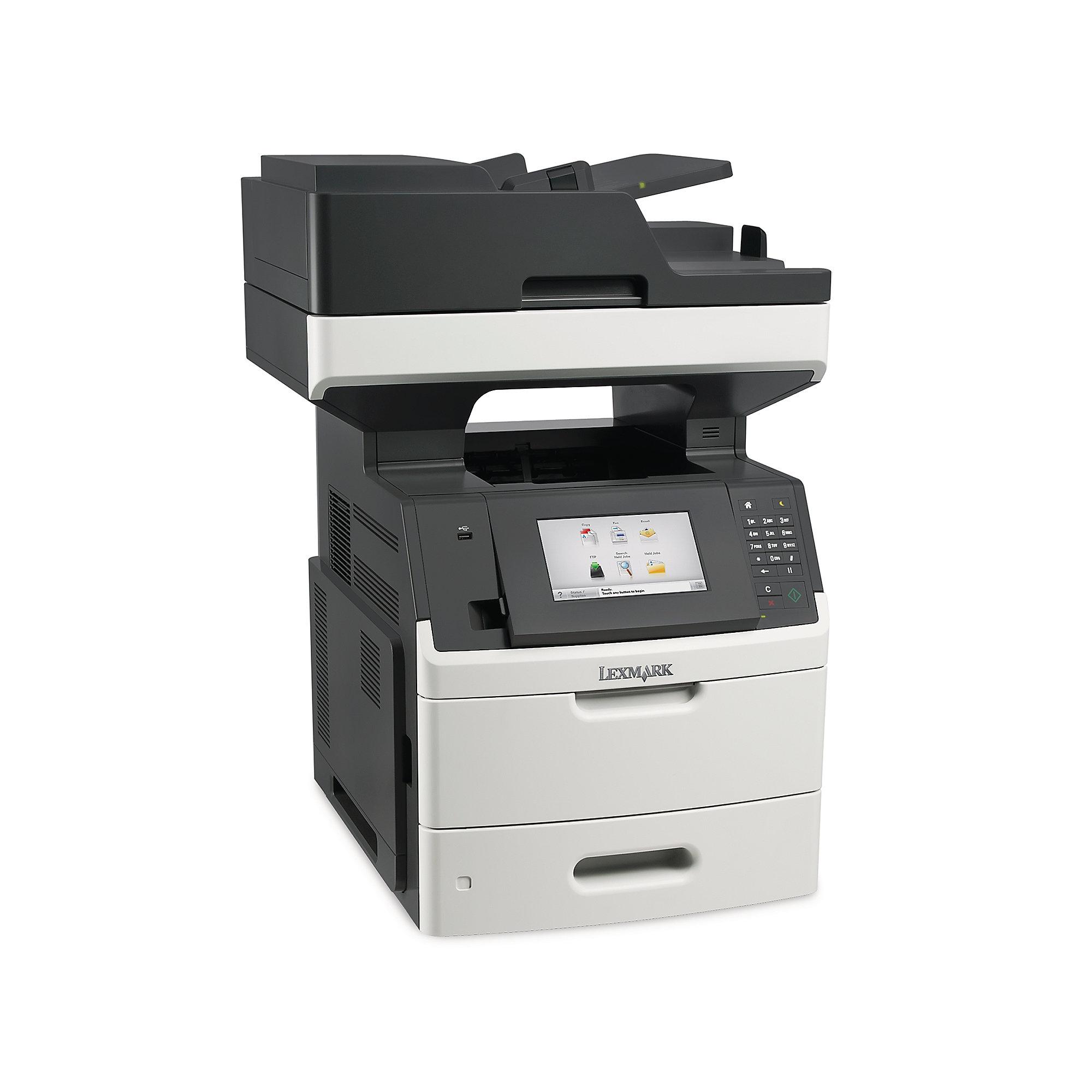 lexmark mx710de s w laserdrucker scanner kopierer fax cyberport. Black Bedroom Furniture Sets. Home Design Ideas