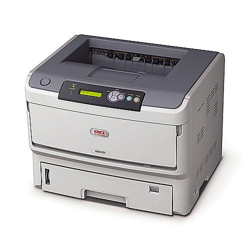 OKI B840dn LED-S/W-Laserdrucker LAN A3