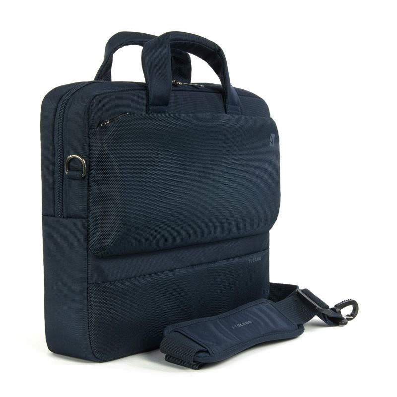 "Tucano Dritta Notebooktasche 33,8cm (13"") MacBook,Ultrabook blau Tabletfach"