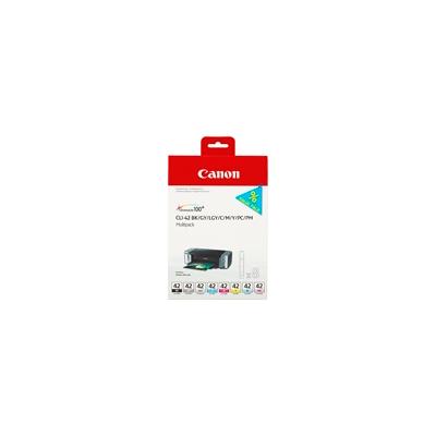 Canon  6384B010 Druckerpatrone Multipack CLI-42 BK/GY/LG/C/M/Y/PC/PM | 4960999974194