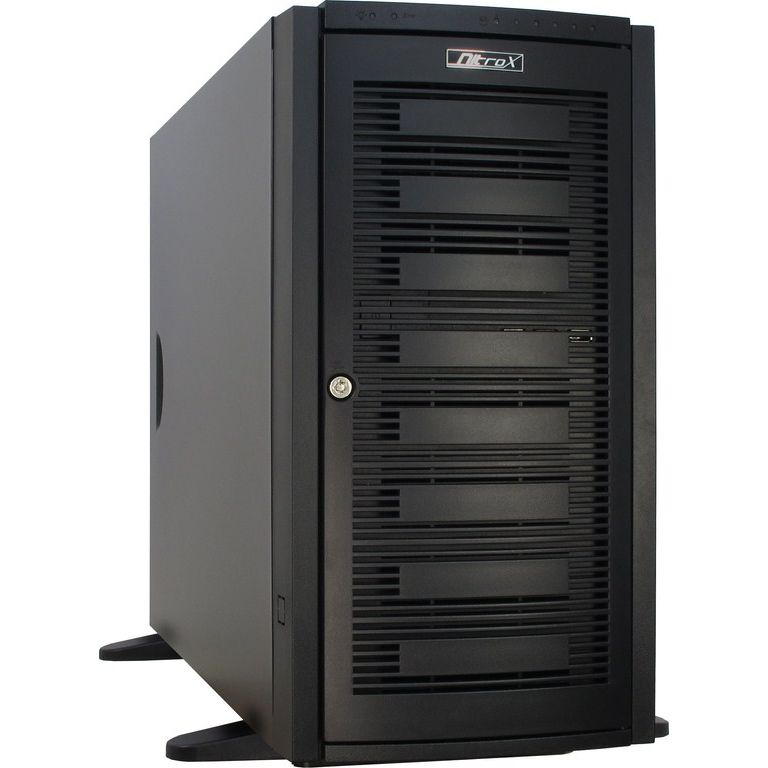 InterTech IPC-9008 5U Server Chassis Schwarz