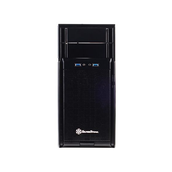 SilverStone Precision Series SST-PS08B USB 3.0 Midi-tower schwarz