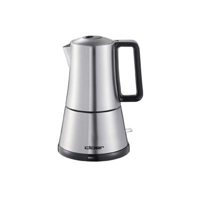 Cloer  5928 Elektrischer Espressokocher Edelstahl | 4004631001579