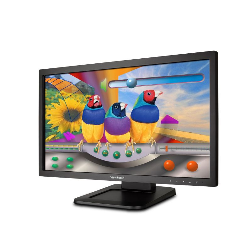 "ViewSonic TD2220 56cm 22"" Multi-Touch Monitor 5ms VGA/DVI/USB Lautsprecher"