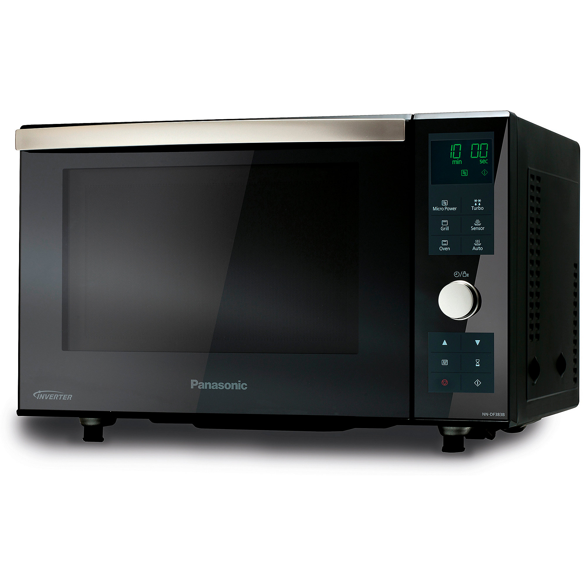 panasonic nn df383b inverter mikrowelle grill schwarz cyberport. Black Bedroom Furniture Sets. Home Design Ideas