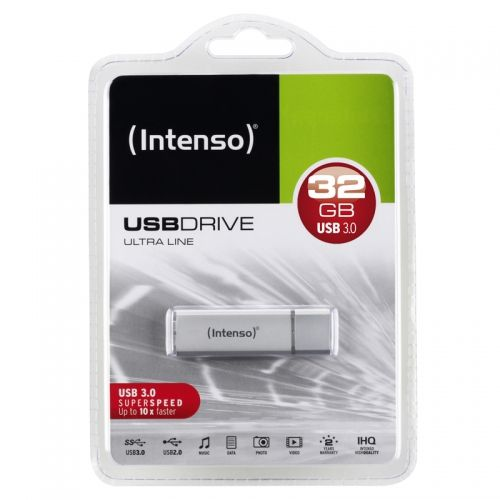 Intenso 32GB Speed Line USB 3.0 Stick weiß