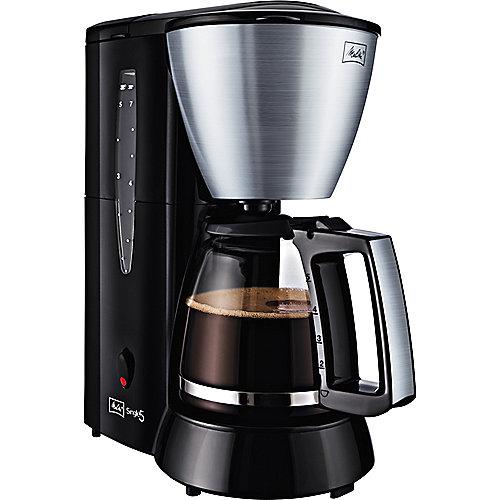 Melitta Single 5 M 720 bk SST Kaffeemaschine Edelstahl/schwarz   4006508211180