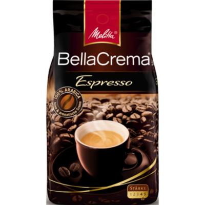 Melitta  BellaCrema Espresso 1000g Ganze Bohnen Vollautomatenkaffee | 4002720008300