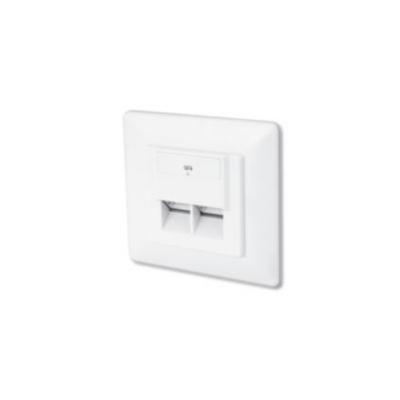 Digitus  CAT6 Klasse E Netzwerkdose Unterputz weiß | 4016032175711