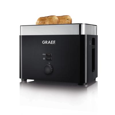 Graef TO 62 Toaster Schwarz