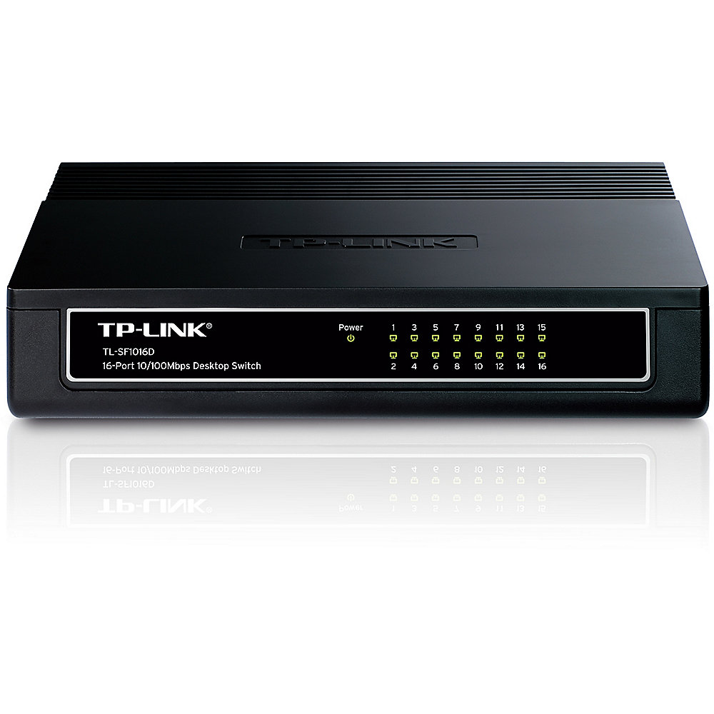 TP-LINK TL-SF1016D 16x Port Desktop Switch