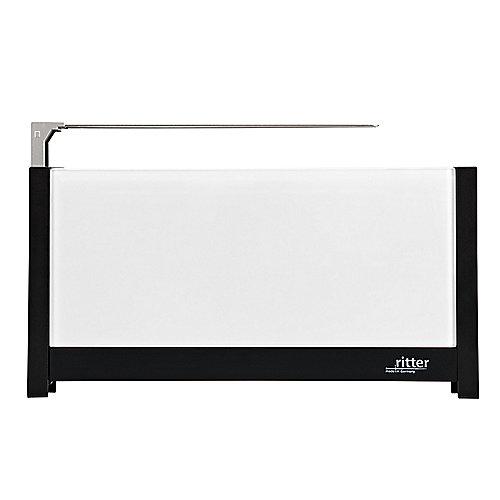 ritter volcano 5 Langschlitz-Toaster mit Glasfronten weiß | 4004822630014