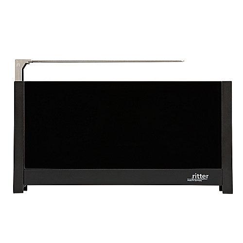 ritter volcano 5 Langschlitz-Toaster mit Glasfronten schwarz | 4004822630007