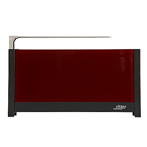 ritter volcano 5 Langschlitz-Toaster mit Glasfronten rot | 4004822630021