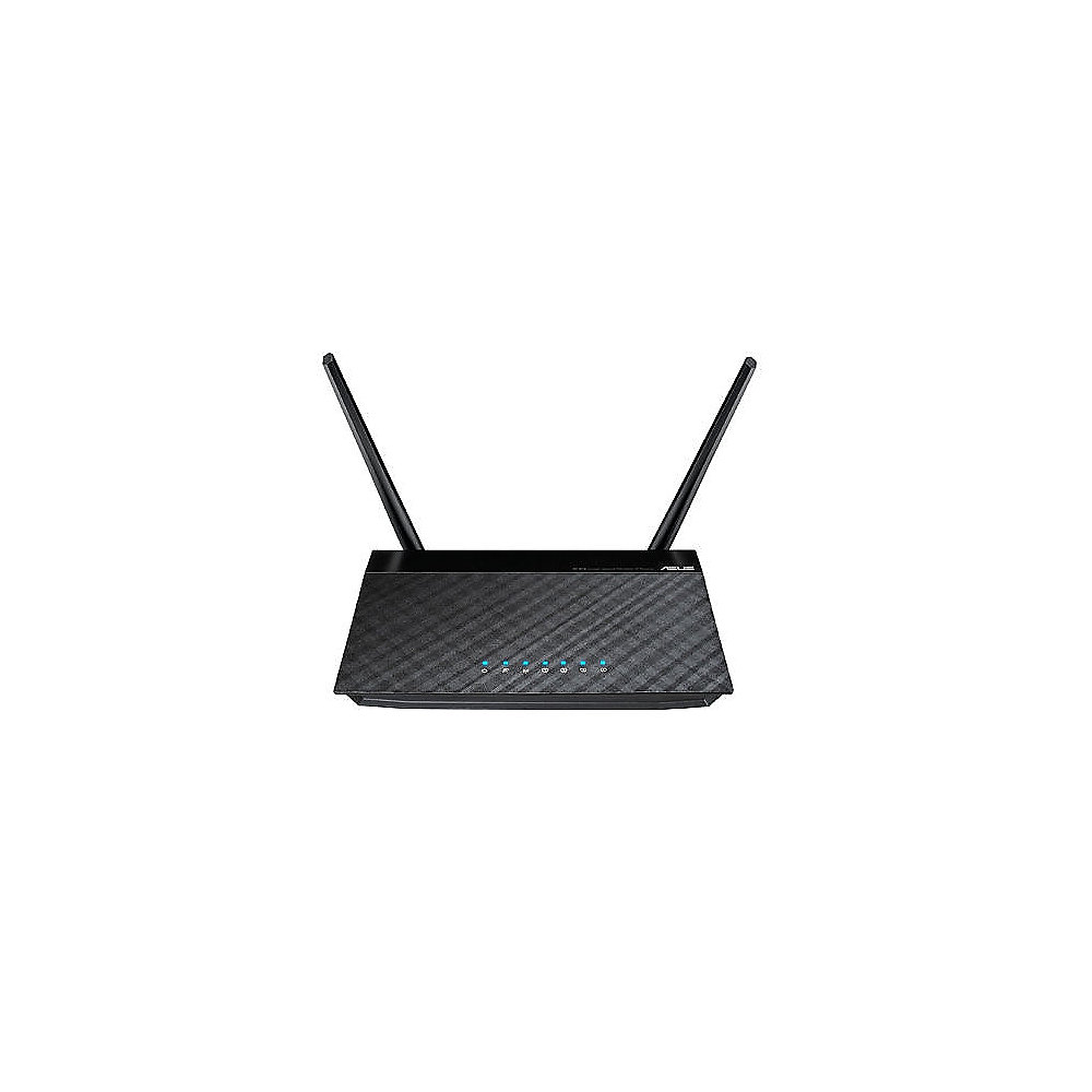ASUS N300 RT-N12 D1 300Mbit wireless WLAN-n Fast Ethernet Router ++ ...