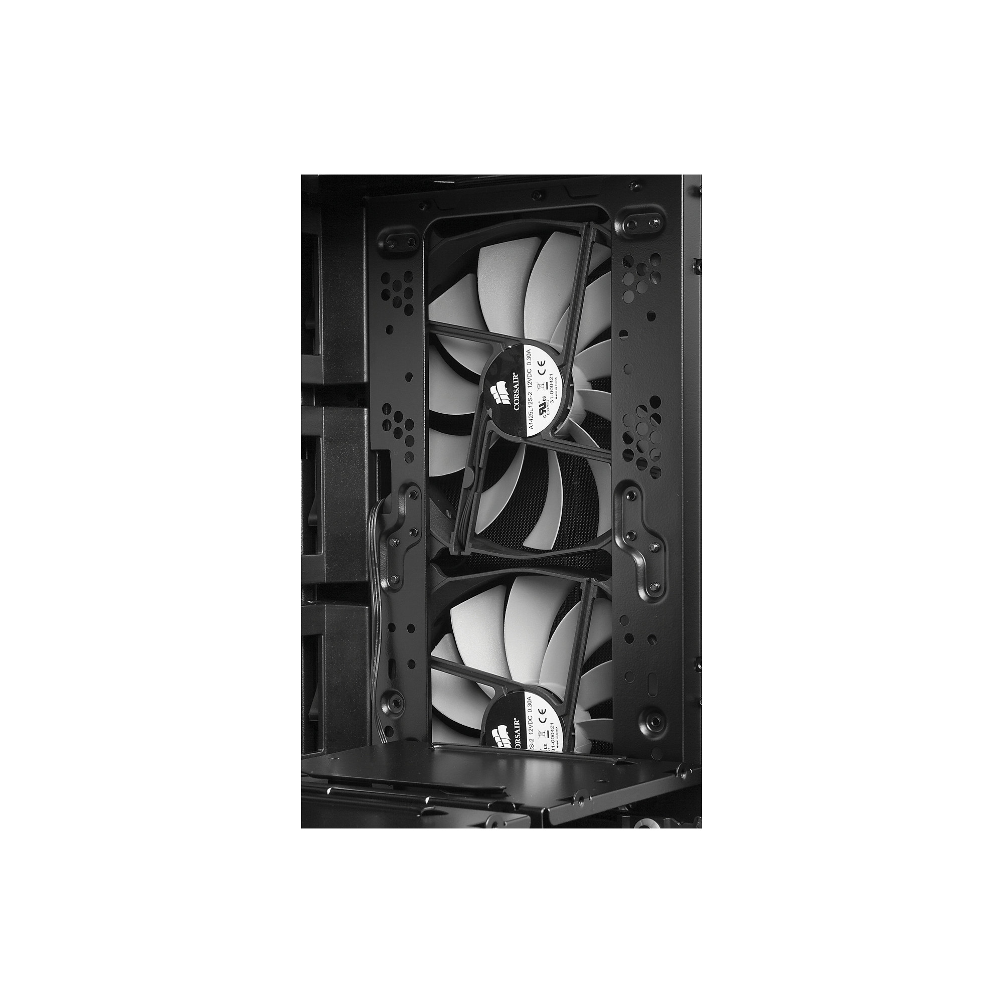 Corsair Obsidian 750D Big Tower ATX/mATX/E-ATX/XL-ATX graphit  (ohne NT)