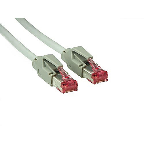 Patch Netzwerkkabel Cat. 6 S/FTP Hirose-Stecker grau 1m | 4014619097210