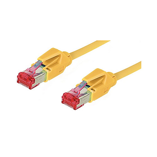 Good Connections Patch Netzwerkkabel Cat. 6 S/FTP Hirose-Stecker gelb 2m