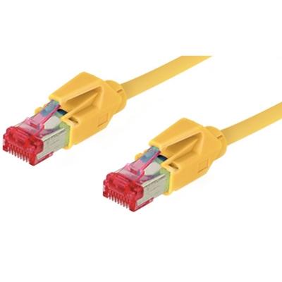 Good Connections  Patch Netzwerkkabel Cat. 6 S/FTP Hirose-Stecker gelb 5m   4014619993741