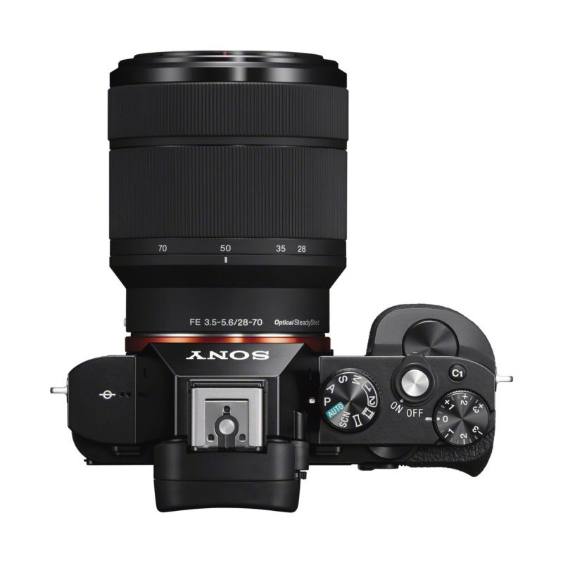 Sony Alpha a7 Kit 28-70 mm schwarz (ILCE-7K)