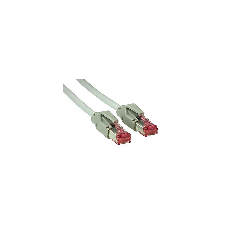 Good Connections Patch Netzwerkkabel Cat. 6 S/FTP Hirose-Stecker grau 20m