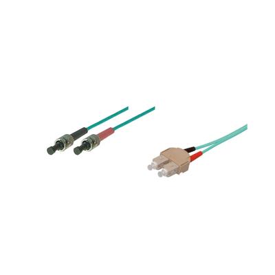 Good Connections  Patchkabel LWL Duplex OM3 SC/ST Multimode 5m   4014619379095