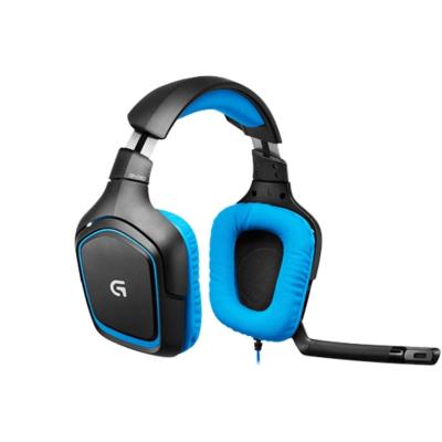 Logitech Gaming Logitech G430 Surround Sound Gaming Headset Blau 981-000537 | 5099206042575