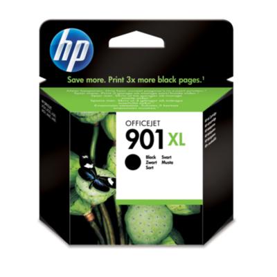 HP  901 XL Original Druckerpatrone schwarz mit hoher Kapazität CC654AE | 0884962780428