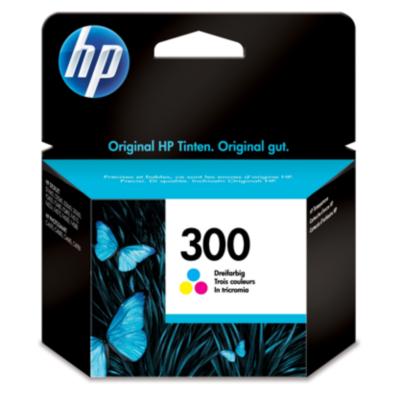 HP  CC643EE Original Druckerpatrone 300 dreifarbig (cyan, magenta, gelb) | 0884962780497