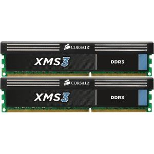 8GB (2x4GB) Corsair XMS3 DDR3-1600 CL9 (9-9-9-24) DIMM-Kit