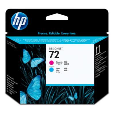 HP  C9383A Original Druckkopf 72 magenta und cyan | 0808736779609