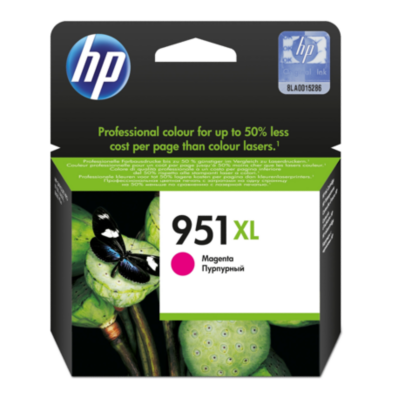 HP  951 XL Original Druckerpatrone Magenta CN047AE für ca. 1.500 Seiten | 0886111748938