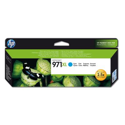 HP  CN626AE Original Druckerpatrone 971 XL cyan mit hoher Kapazität | 0886112877385