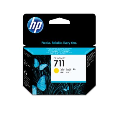 HP  CZ132A original Druckerpatrone 711 Gelb | 0886112841157