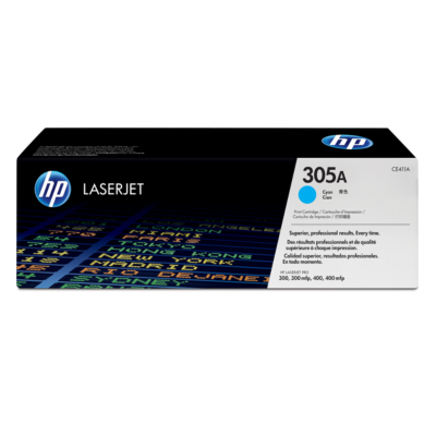 HP  CE411A Original Tonerkassette 305A cyan   0884962772362