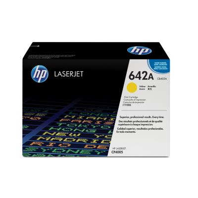 HP  CB402A Original Tonerkassette 642A gelb | 0882780599918