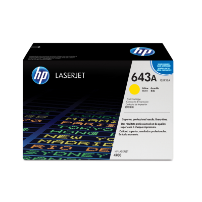 HP  Q5952A Original Tonerkassette 643A gelb | 0829160493893