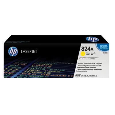 HP  CB382A Original Tonerkassette 824A gelb | 0882780459137