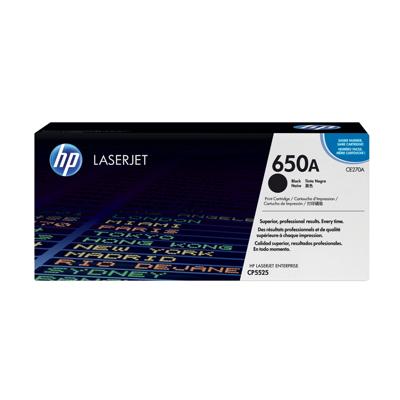 HP  CE270A Original Tonerkassette 650A schwarz | 0884962161166