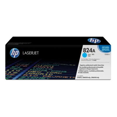 HP  CB381A Original Tonerkassette 824A cyan | 0882780459120