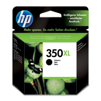 HP  CB336EE Original Druckerpatrone 350XL schwarz mit hoher Kapazität | 0884962780596