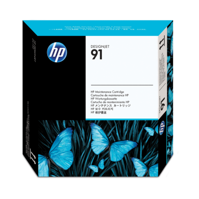 HP  C9518A Original Wartungspatrone 91 | 0882780987265